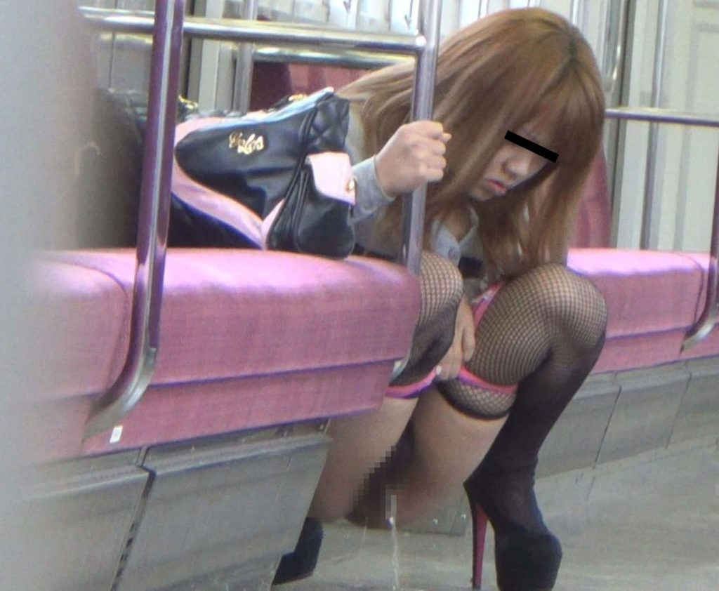 電車の中でおしっこするAVがヤバ過ぎる・・・確実に逮捕事案で胸糞。。。(画像あり)・11枚目