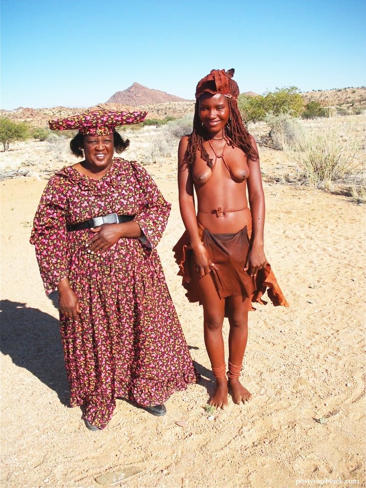 """""""アフリカ原住民""""の民族おっぱいを集めた結果。巨乳多すぎワロタwwwwwww・41枚目"""