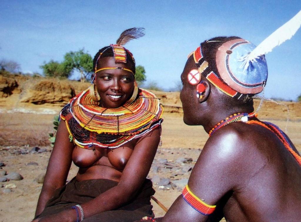 """""""アフリカ原住民""""の民族おっぱいを集めた結果。巨乳多すぎワロタwwwwwww・46枚目"""