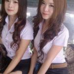 【画像あり】制服が嬢にしか見えないタイの女子大生をご覧下さい。 40枚