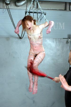 【※流血注意※】こういう変態プレイをしたがる女、有刺鉄線を使った調教画像をご覧ください(画像あり)・16枚目