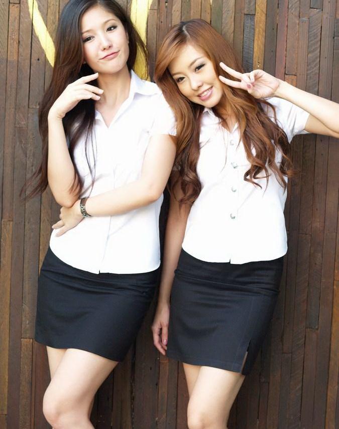 【画像あり】制服が嬢にしか見えないタイの女子大生をご覧下さい。 40枚・36枚目