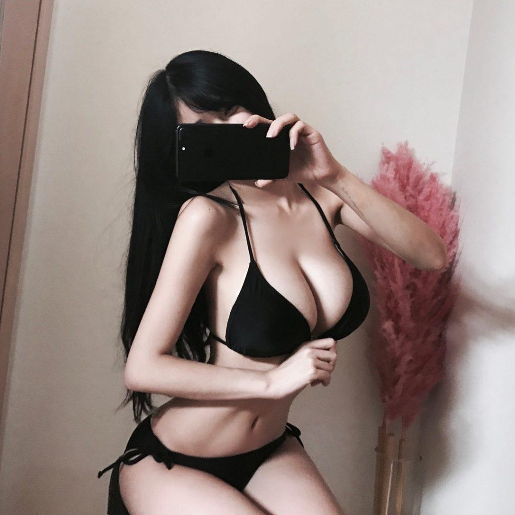 巨乳をアピールしSNSにオナネタ提供してくれる韓国美女。(画像37枚)・17枚目