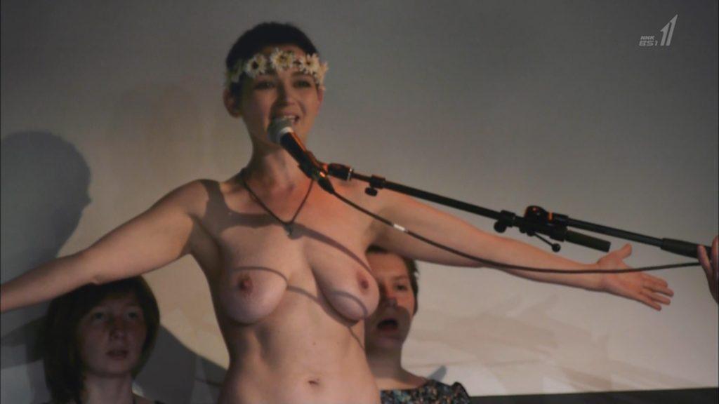 【※悲報】NHK バレエダンサー特集で乳首がガチで映る放送事故wwwwwwww(画像あり)・2枚目