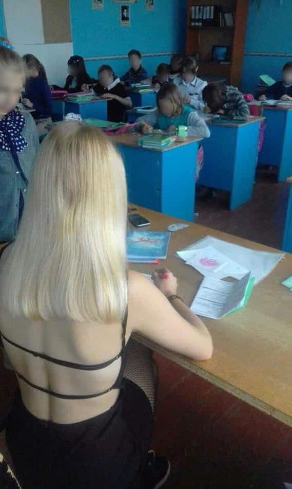 【※ご褒美※】生徒にヤられそうなロシアの女教師ヤッバ杉クソワロタwwwwwwww(画像あり)・20枚目