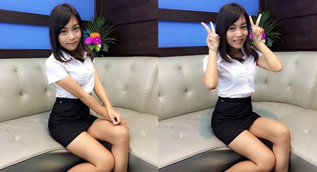 【画像あり】タイの女子大生の制服、パンツくらい見えても平気です(`・д・´)キリッ・32枚目
