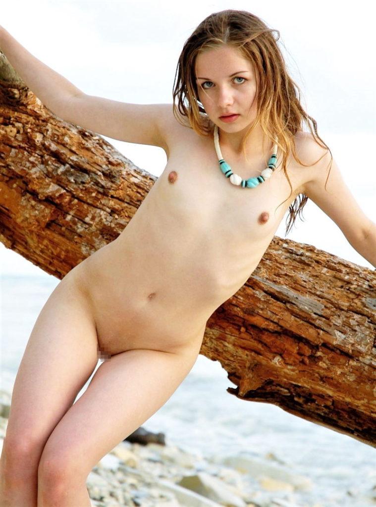 白人×貧乳が集まる最強画像スレ、女体エロ杉・・・絶句した。(※画像あり※)・37枚目
