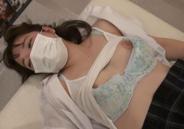 【※エロ動画】すぐ濡れる敏感すぎる制服娘のガチハメ撮りが有能すぎるwwwww
