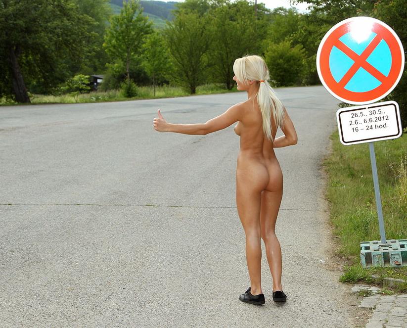 裸のヒッチハイカーに遭遇したんだが・・・おまいらどうする???・1枚目