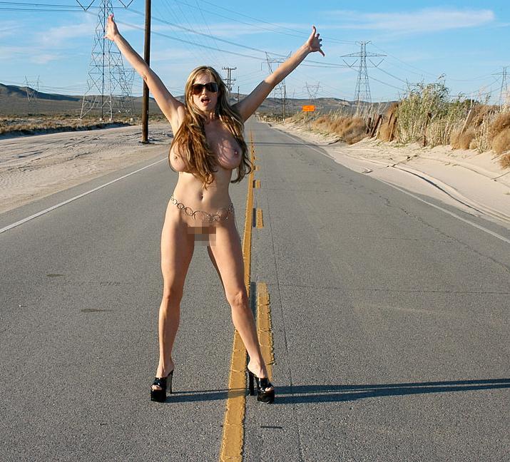 裸のヒッチハイカーに遭遇したんだが・・・おまいらどうする???・19枚目