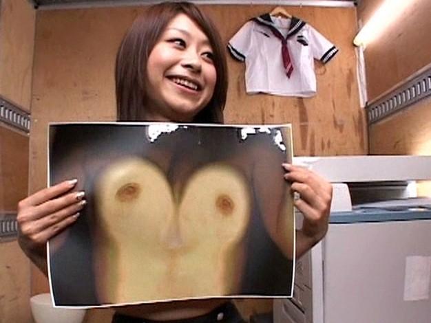 なんでもありだった時代の「いくらで胸のコピーを撮らせてくれますか?」素人企画番組を再現した結果wwww(※画像あり※)・6枚目