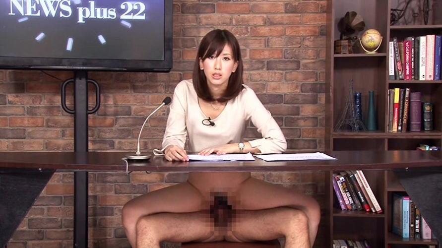 【※悲報※】テレビでえちえちノーパンアナが映るwwwwwwwwwwww(画像あり)・11枚目