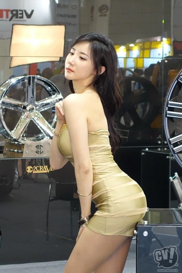 【※激写※】韓国の美人キャンギャル、ノーパン率が高かった模様・・・・・(画像あり)・13枚目