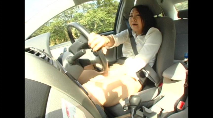 車を運転しながらオナニーする基地外女がいるんだが・・・・・(GIFあり)・14枚目
