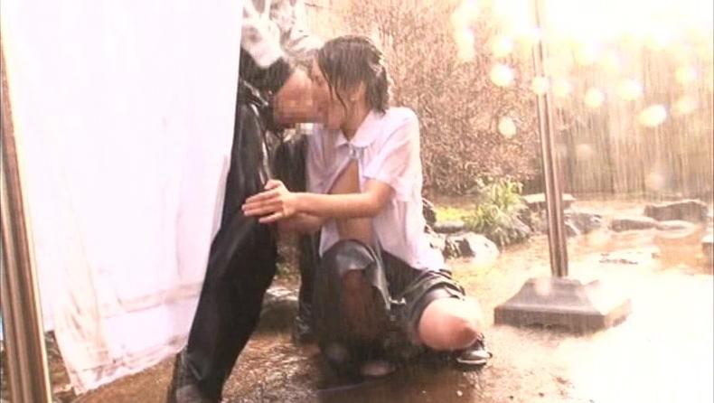 雨に打たれながらヤる女の色気が半端ないんだがwwwwwwwwwwww(画像あり)・23枚目