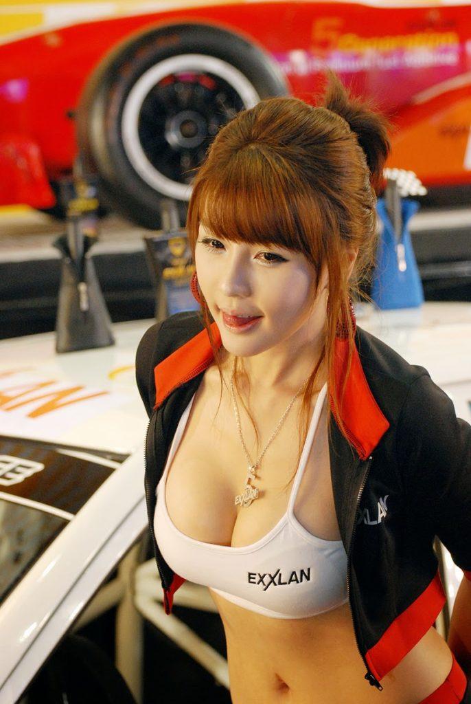 【※激写※】韓国の美人キャンギャル、ノーパン率が高かった模様・・・・・(画像あり)・5枚目