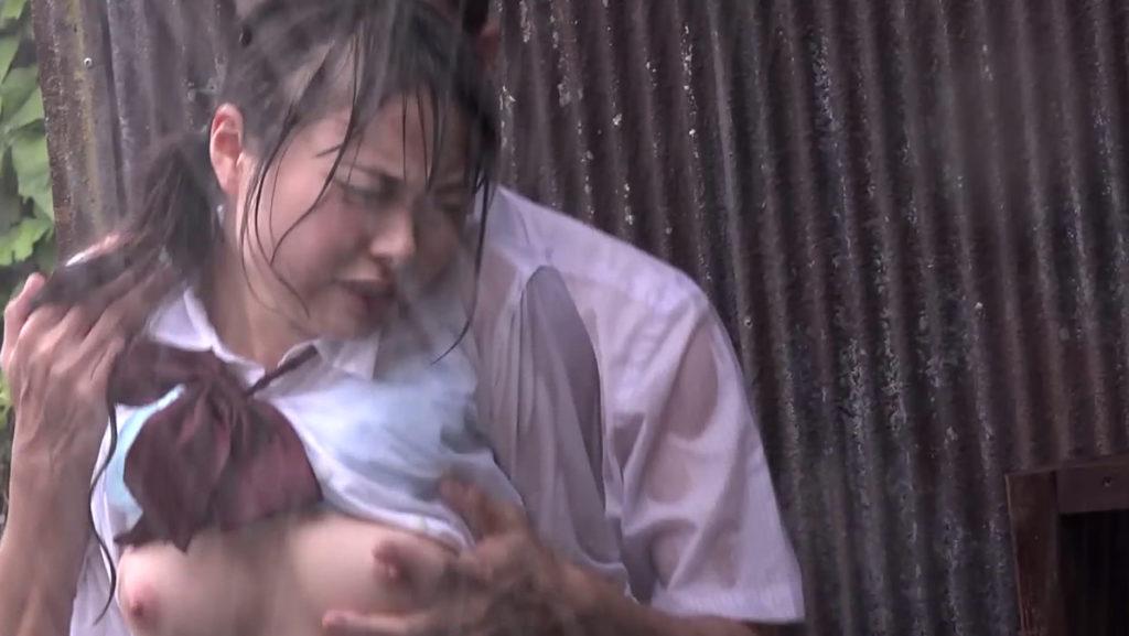 雨に打たれながらヤる女の色気が半端ないんだがwwwwwwwwwwww(画像あり)・8枚目