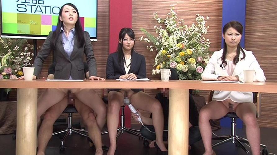 【※悲報※】テレビでえちえちノーパンアナが映るwwwwwwwwwwww(画像あり)・8枚目