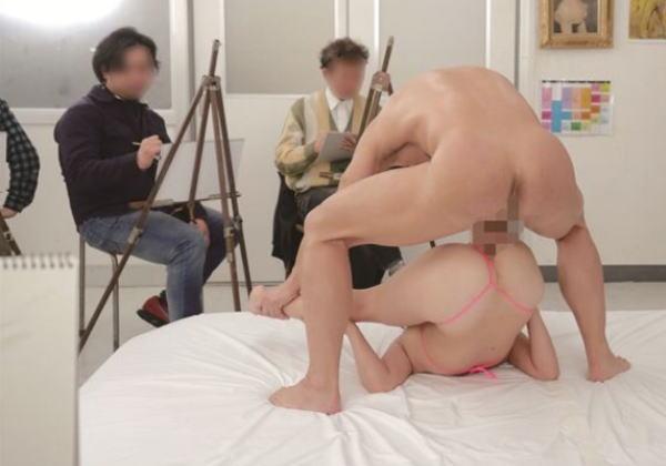 【※歓喜】ヌードモデルの女の子にハメポーズを要請してみた結果・・・・・