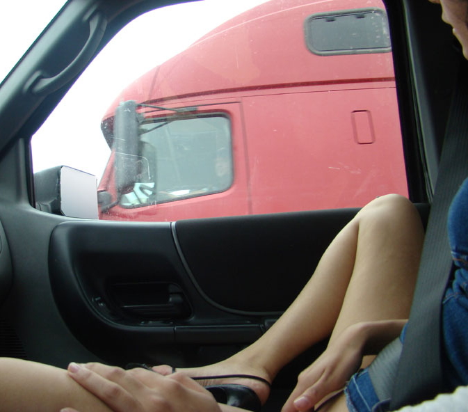 【※痴女注意】煽りまくる女だらけの車内の様子がこちら。(画像あり)・12枚目