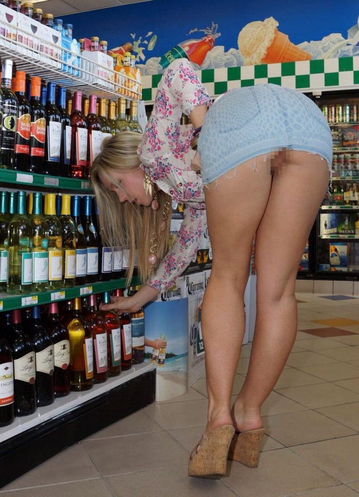 【激写】スーパーで買い物中の素人妻のパンチラが気になりすぎる件wwwwwww(※画像あり)・16枚目