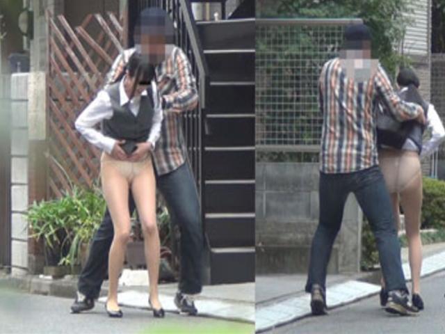 スカートの中を撮影しようとしてる変態男の巧妙な手口がこちら。(※画像あり)・15枚目