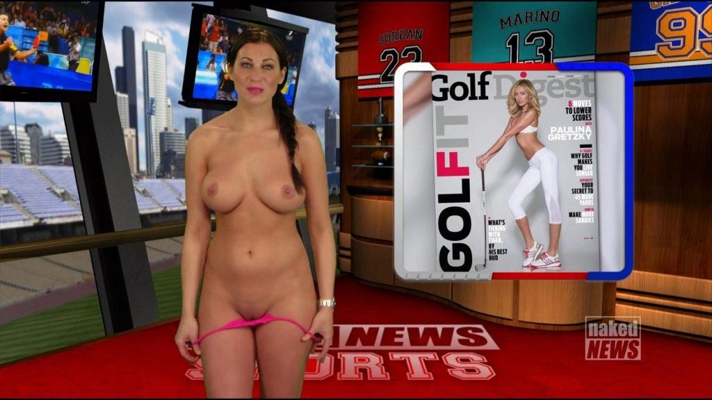 露出癖のある美人女子アナさん、生放送中に脱ぎ出す放送事故wwwwwwwww(※GIFあり)・19枚目