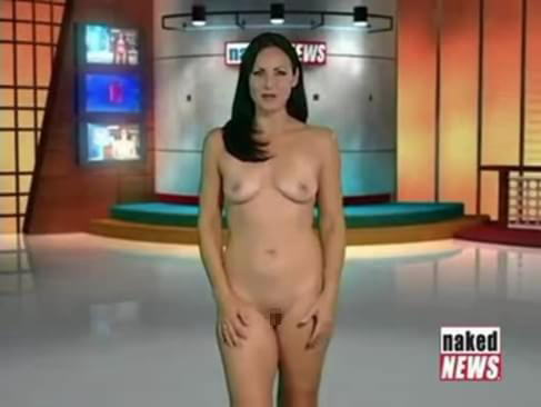 露出癖のある美人女子アナさん、生放送中に脱ぎ出す放送事故wwwwwwwww(※GIFあり)・21枚目