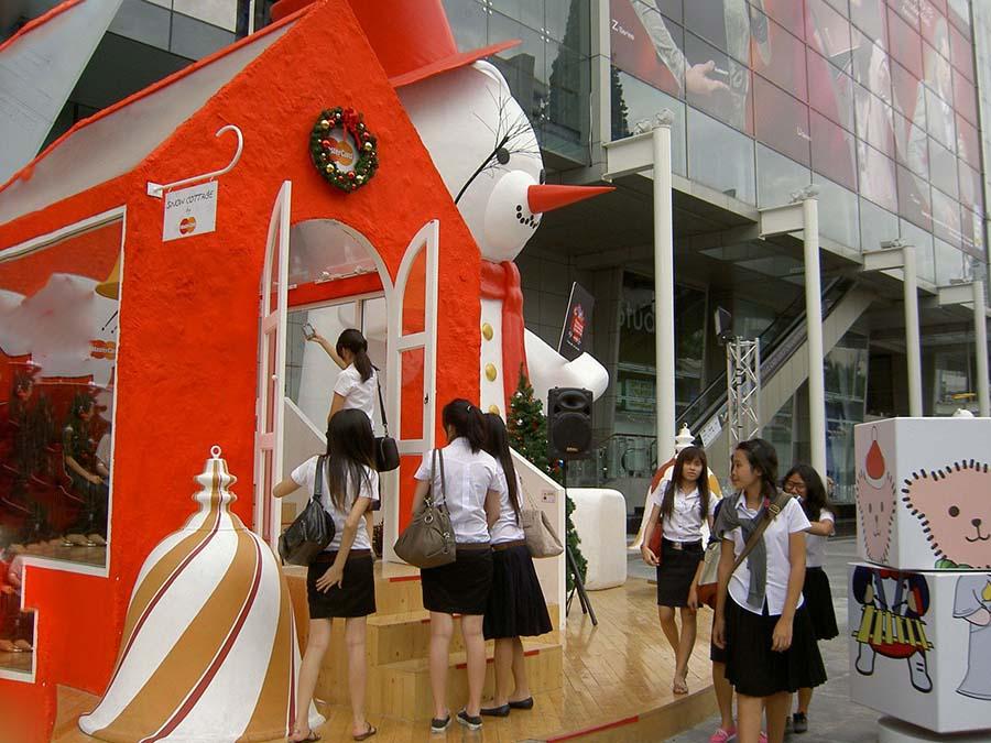 【画像あり】タイの女子学生の制服がエロい画像まとめ。これ男じゃないよね??・17枚目