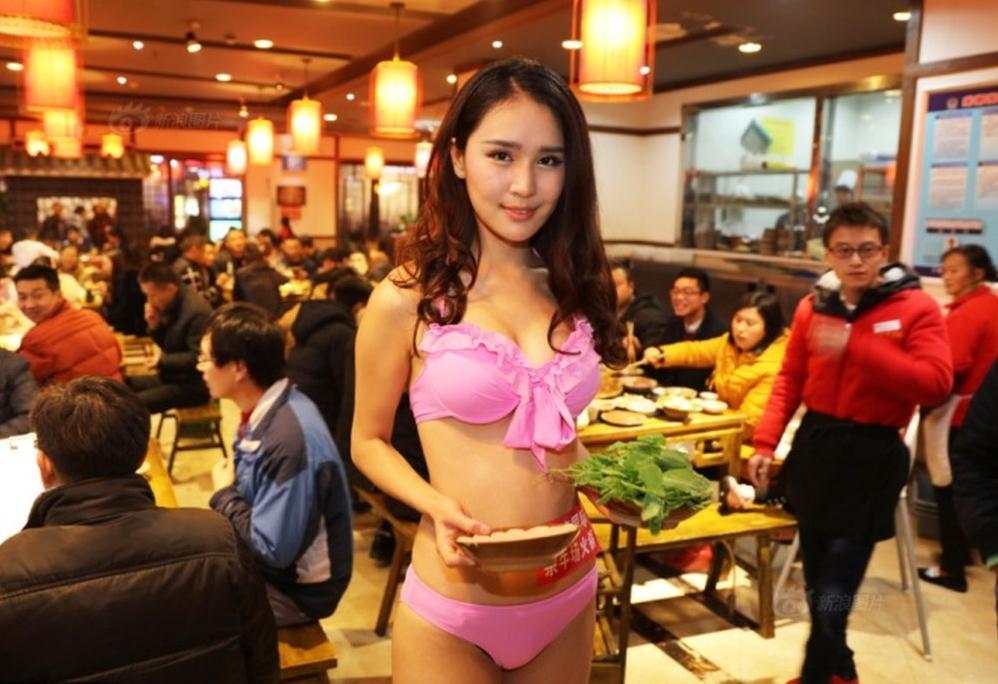 【画像あり】儲ける為に何でもヤル中国さんセクシー居酒屋を開店する。これは行きたいわwwwwww・20枚目