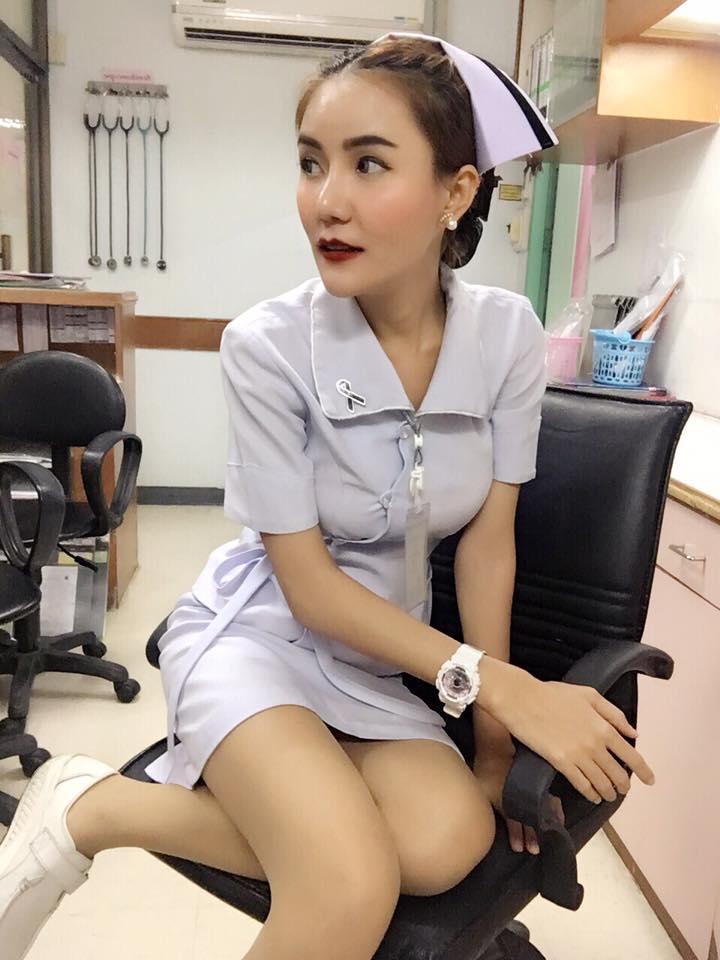 【画像あり】タイで入院したワイ、ナースがエロすぎで勃起が止まらない・・・・23枚目