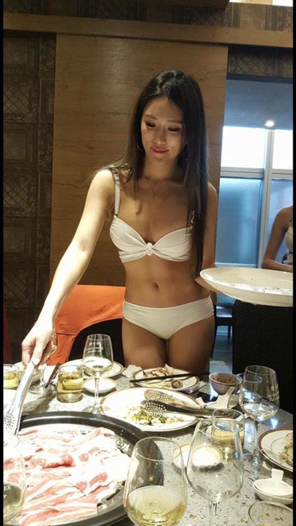 【画像あり】儲ける為に何でもヤル中国さんセクシー居酒屋を開店する。これは行きたいわwwwwww・25枚目