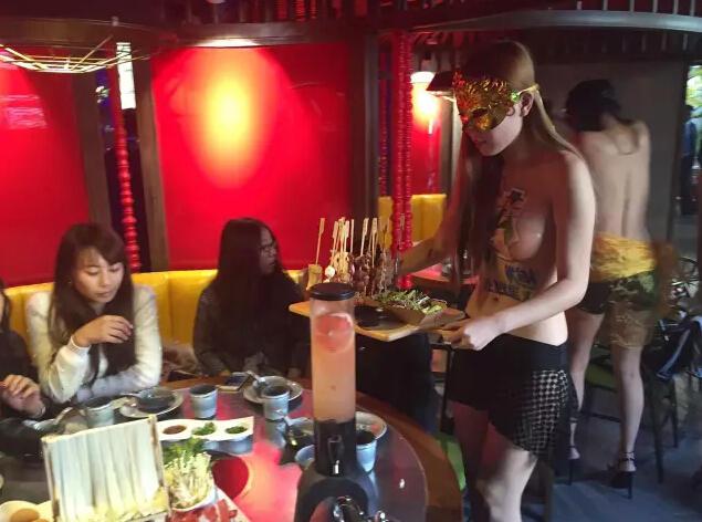 【画像あり】儲ける為に何でもヤル中国さんセクシー居酒屋を開店する。これは行きたいわwwwwww・29枚目
