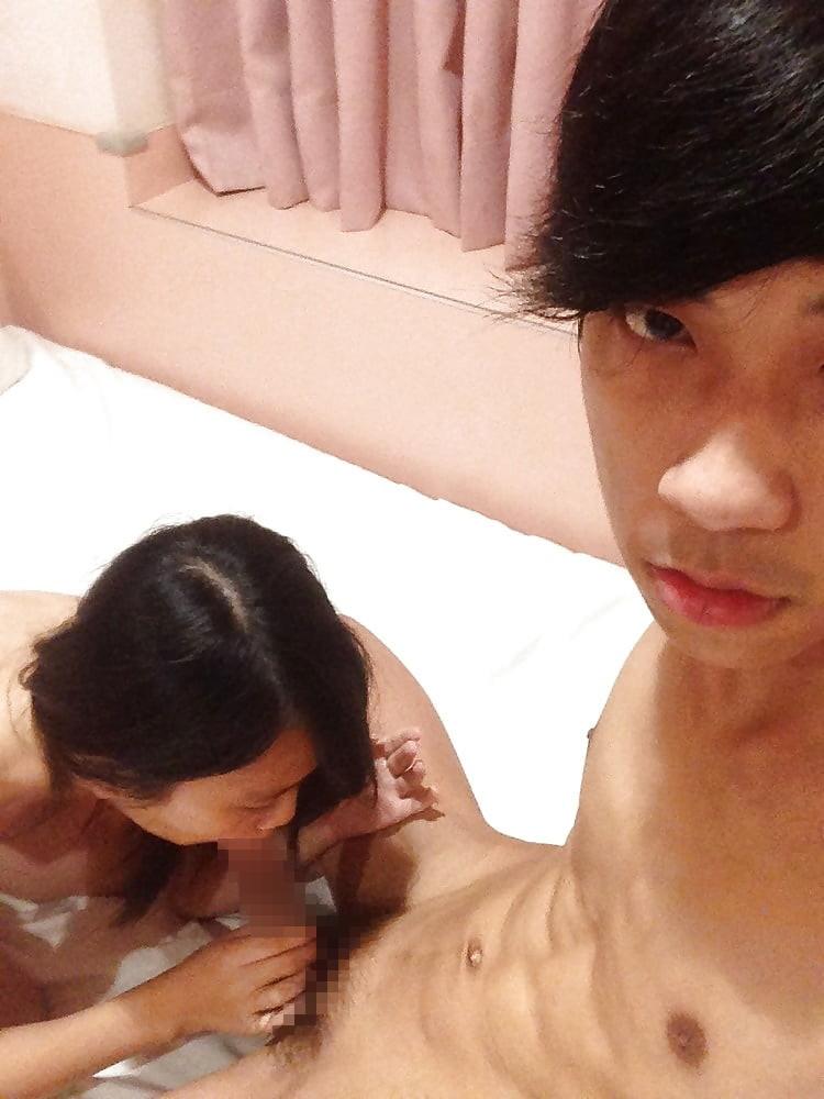 【素人】SNSにうpされた中国のバカップルのハメ撮り画像。・30枚目