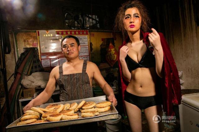 【画像あり】儲ける為に何でもヤル中国さんセクシー居酒屋を開店する。これは行きたいわwwwwww・31枚目