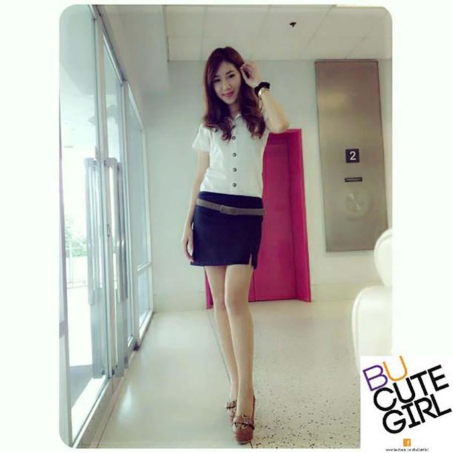 【画像あり】タイの女子学生の制服がエロい画像まとめ。これ男じゃないよね??・33枚目