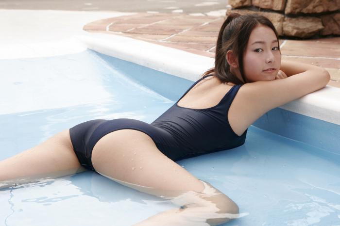 ジュニアアイドルさんのイメビ、どんどん過激になる・・・。(GIFあり)・25枚目