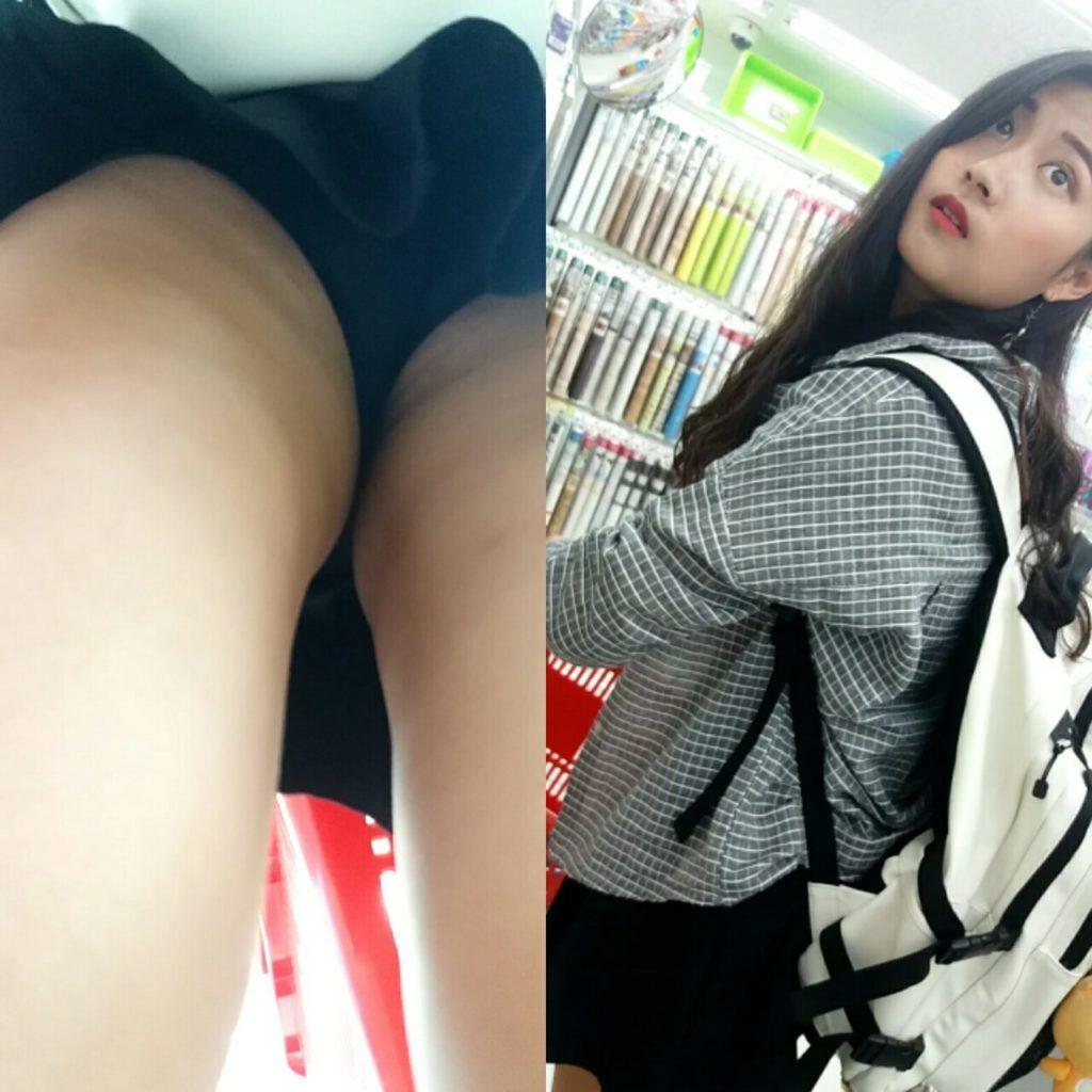 【盗撮】パンツを逆さ撮りされた中国・韓国まんさん。撮り方が大胆すぎwwwwwww(画像あり)・13枚目