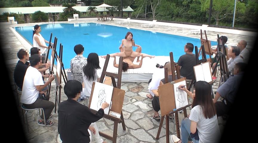 ヌードモデルまんさん、「これは芸術です!」とマンコをくぱぁしちゃうwwwww(画像あり)・16枚目