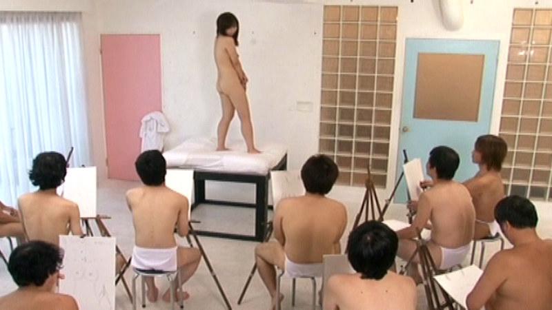 ヌードモデルまんさん、「これは芸術です!」とマンコをくぱぁしちゃうwwwww(画像あり)・19枚目