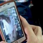 痴漢に遭遇した女さん、部外者に撮影され晒される・・・これエロくない?wwwww(GIFあり)