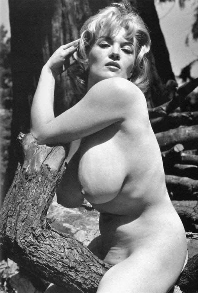 【エロ画像】白黒時代のヘアヌード女さんのナチュラルボディーがこちら。(26枚)・9枚目