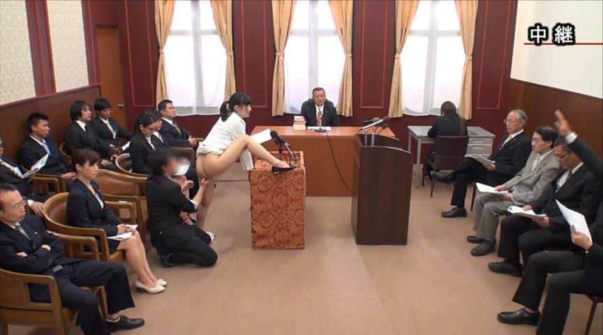 【エロ画像】伝説の国会中継。女子議員オッパイ丸出しやんwwwwww・16枚目