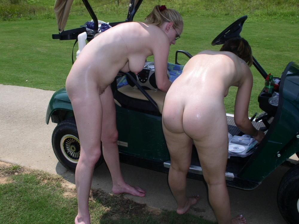 【エロ画像】富豪の ゴルフコンペ ただの露出大会になるwwwww・22枚目