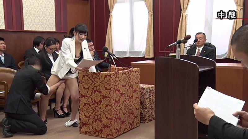 【エロ画像】伝説の国会中継。女子議員オッパイ丸出しやんwwwwww・6枚目