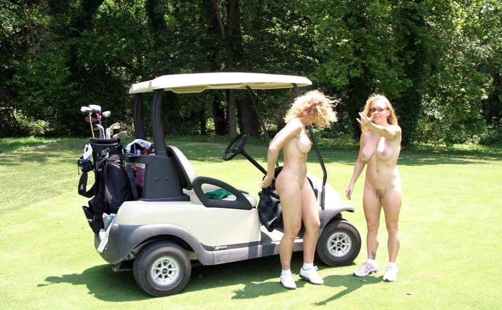 【エロ画像】富豪の ゴルフコンペ ただの露出大会になるwwwww・8枚目