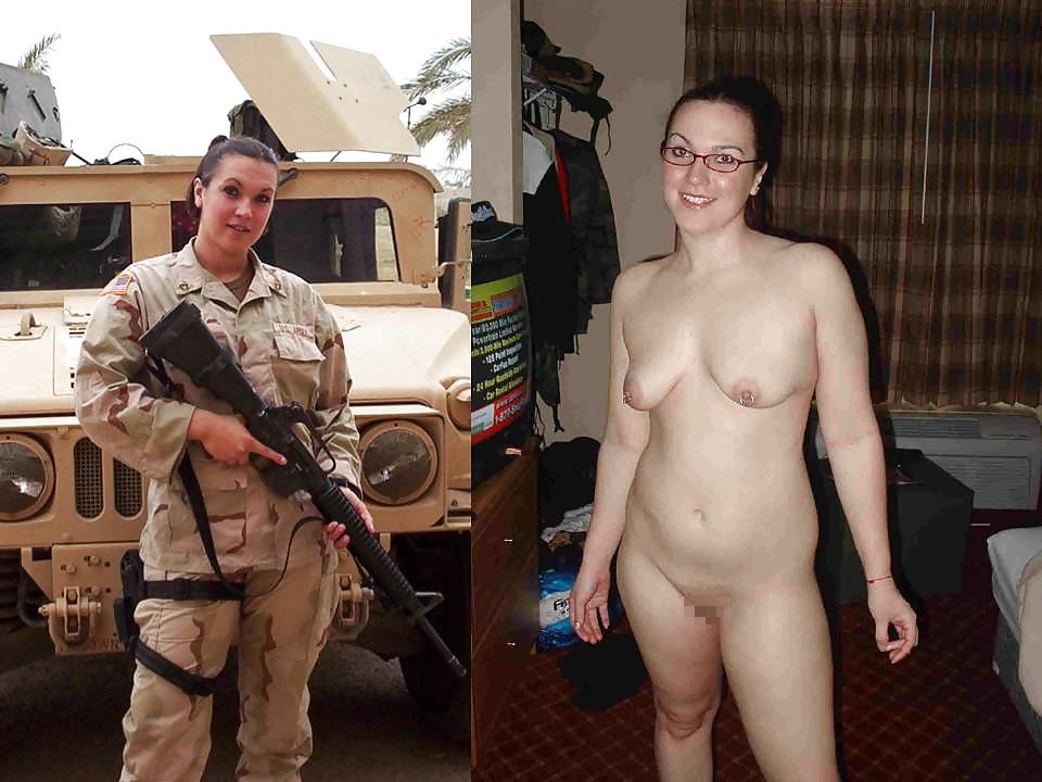 【海外エロ】兵士のまんさん、ヌードと軍服のギャップを見せつけるwwwwwww(29枚)・10枚目