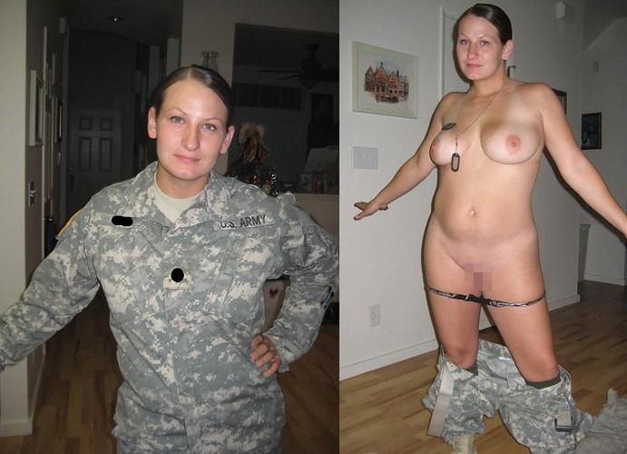 【海外エロ】兵士のまんさん、ヌードと軍服のギャップを見せつけるwwwwwww(29枚)・13枚目