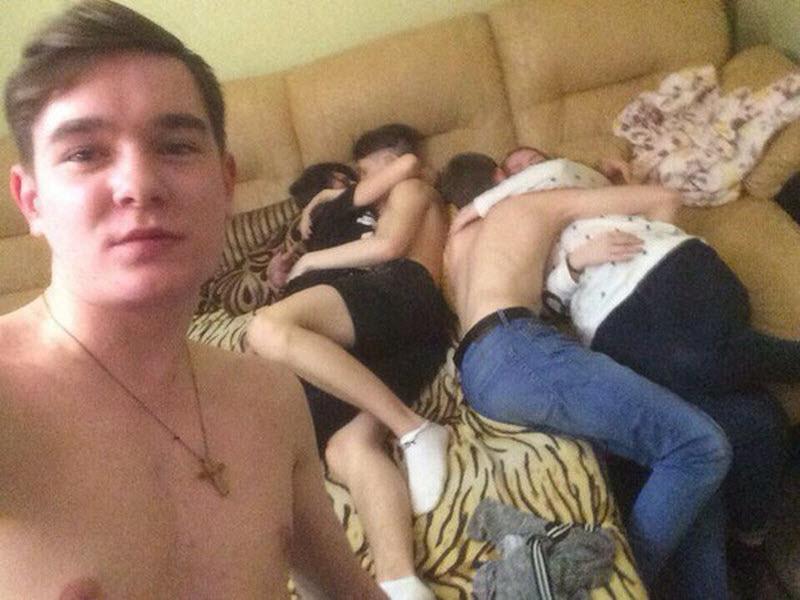 【※乱交】ロシアの10代の男女が乱交パティー。。世界が激震・・・・(画像あり)・14枚目