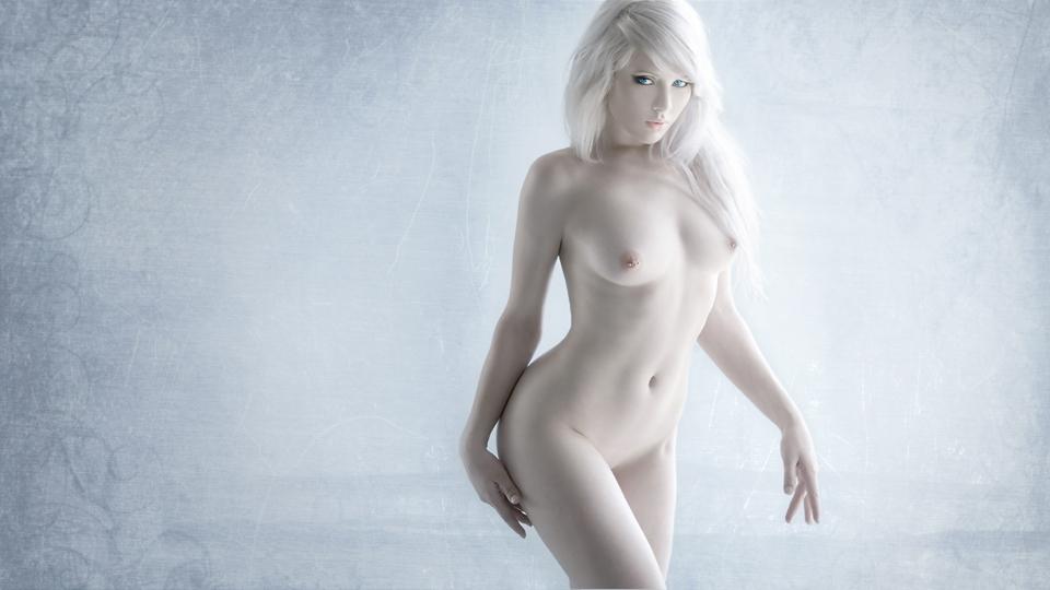 """""""アルビノ""""な美女のヌード写真集。ガチで全部が真っ白wwwwwww(23枚)・15枚目"""